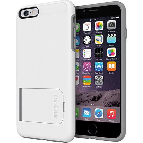 Incipio KICKSNAP Case for Apple iPhone 6,6s Plus, Black,Black by Incipio Technologies