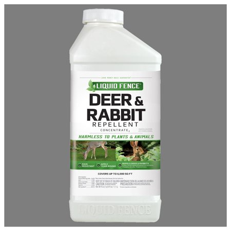 Liquid Fence Deer & Rabbit Repellent Concentrate, 40-oz