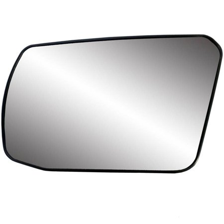 88214 - Fit System Driver Side Non-heated Mirror Glass w/ backing plate, Nissan Altima Coupe 08-13, Altima Hybrid 07-11, Altima Sedan 07-12, 4 7/ 16