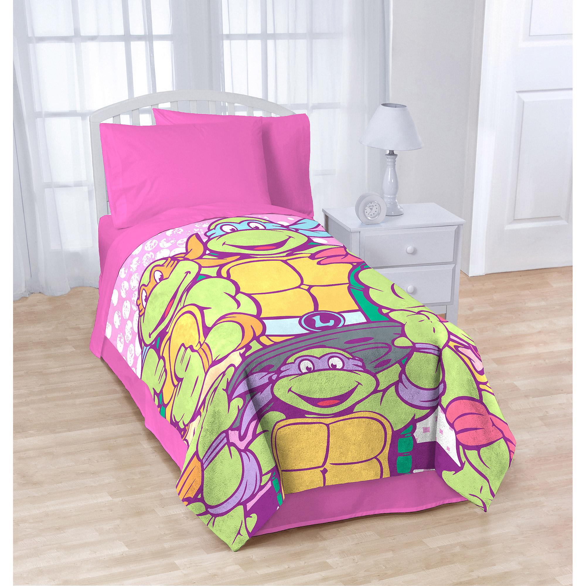 "Nickelodeon Teenage Mutant Ninja Turtles ""SHELLASTIC"" Blanket"