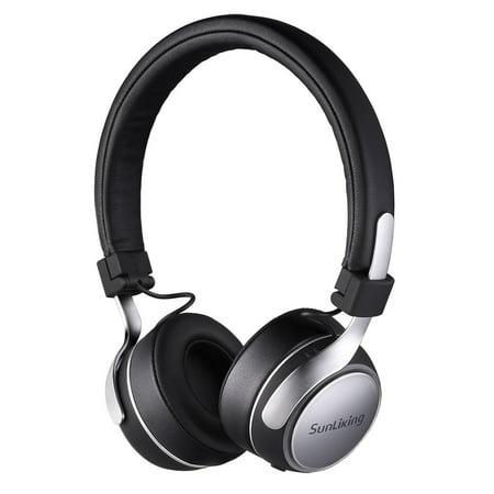 2e778010006 Sunliking Bluetooth Noise-Cancelling Headphone Over Ear, Hi-Fi Stereo  Wireless Headset,