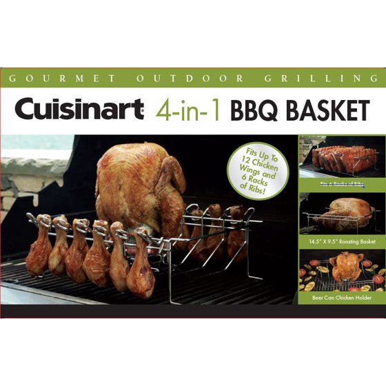 Cuisinart 4 In 1 Bbq Grilling Basket 145 X 95 Basket Wing