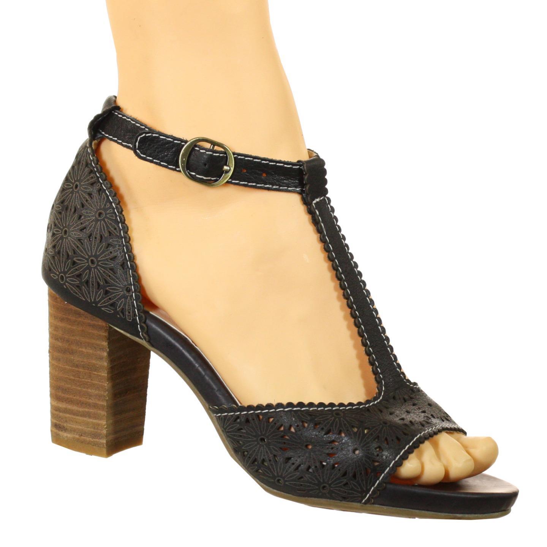 Spring Step L'Artiste Collection Pebbles Women's Sandals Black EU 37 US 7