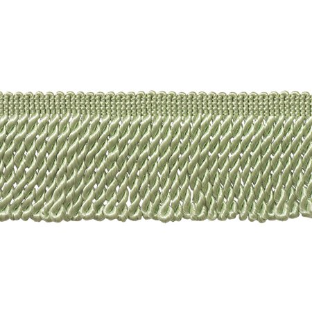 2.5 Inch Bullion Fringe Trim, Style# EF25 Color: Pale Jade Green - G12, Sold By the Yard