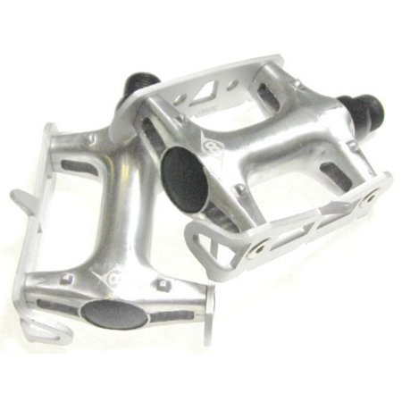 Origin8 Pro Track Light Fixed Gear Silver Bike Pedals
