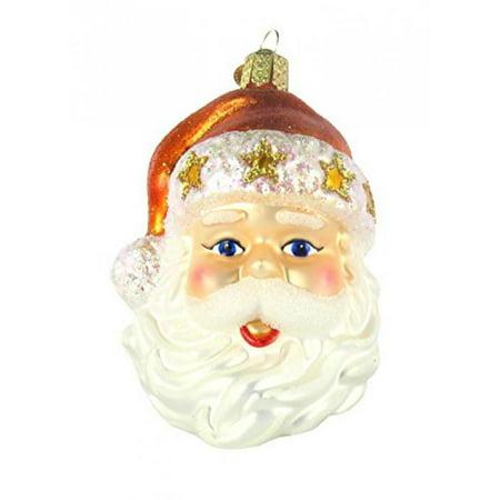 Old World Christmas Fashion Santa Glass - Old Fashioned Christmas Ornaments