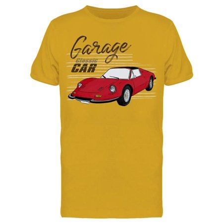 Garage Classic Car Tee Men's -Image by