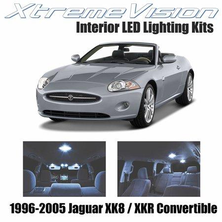 XtremeVision LED for Jaguar XK8 / XKR Convertible 1996-2005 (12 Pieces) Cool White Premium Interior LED Kit Package + Installation - Jaguar Xkr Convertible