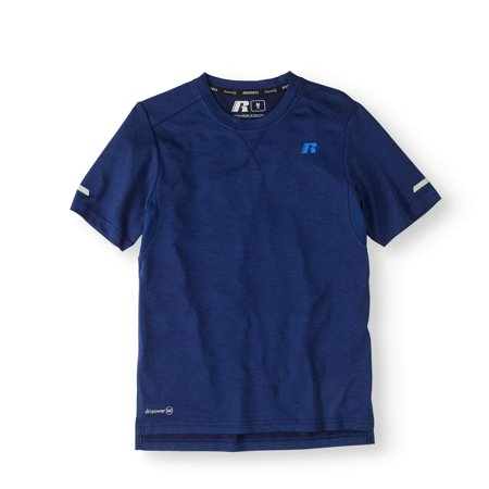 Boys' Short Sleeve Solid Performance T-Shirt