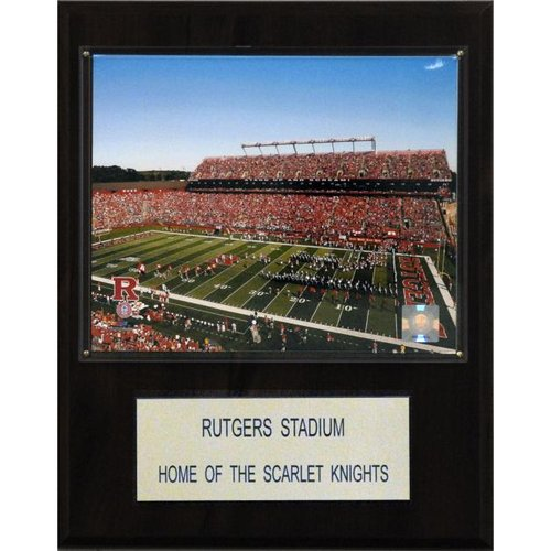 "NCAA Football 12""x15"" Rutgers Stadium Stadium Plaque"