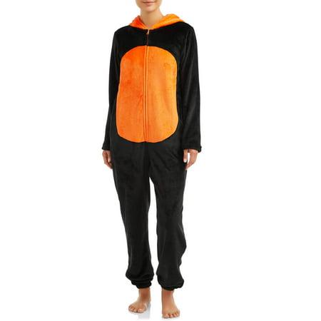 Body Candy Womens Smashing Pumpkin Sleepwear Unionsuit