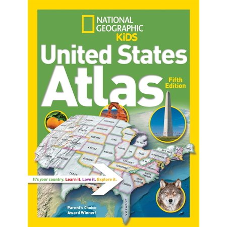 National Geographic Kids United States Atlas (Best States For Kids)