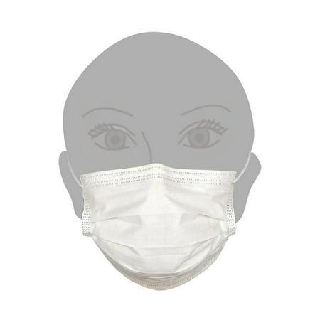 100 Paper Of Masks Pack - Face Disposable Dental Medical Masks