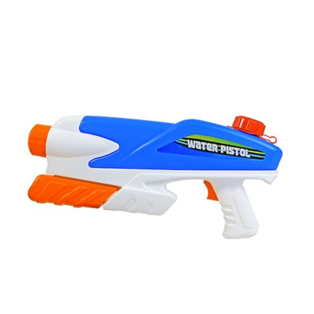 Pull-type Nozzle Squirt Water Shooters Direct Pressure Water Gun Toy for Kids - Color Random