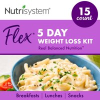 Nutrisystem Flex Kit - Real Balanced Nutrition - 5-Day Weight Loss Kit with Delicious Meals & Snacks