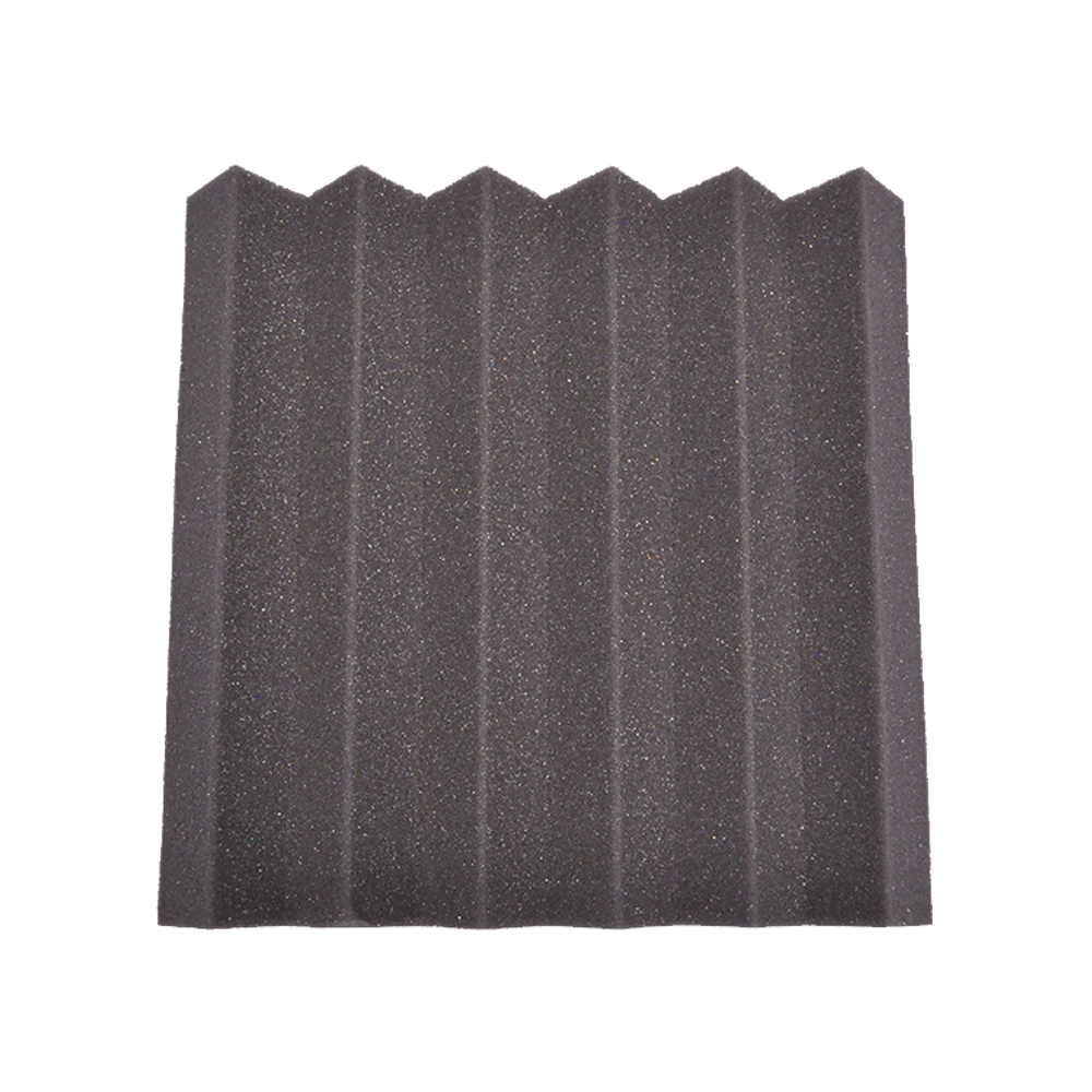 seismic audio 12 pack of charcoal 2 inch studio acoustic foam sheet sound absorbing dampening tiles charcoal walmartcom