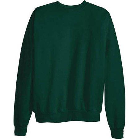 Hanes Mens Ecosmart Medium Weight Fleece Crew Neck Sweatshirt