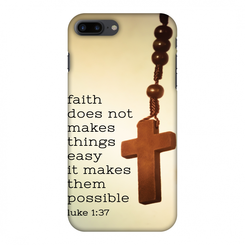 iPhone 7 Plus Case - Bible Wisdom 1, Hard Plastic Back Cover. Slim Profile Cute Printed Designer Snap on Case with Screen Cleaning Kit