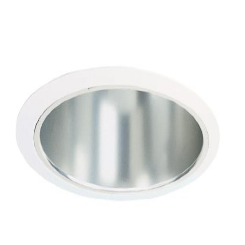 Juno Lighting 2320C-WH 6-Inch Reflector, Clear Alzak with...