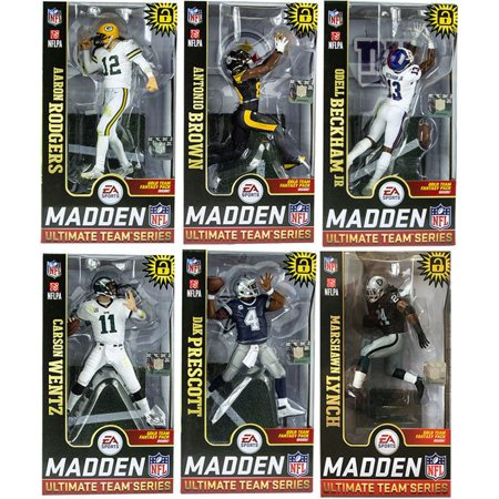 5e30d43ab McFarlane NFL EA Sports Madden 19 Ultimate Team Series 1 Rodgers ...