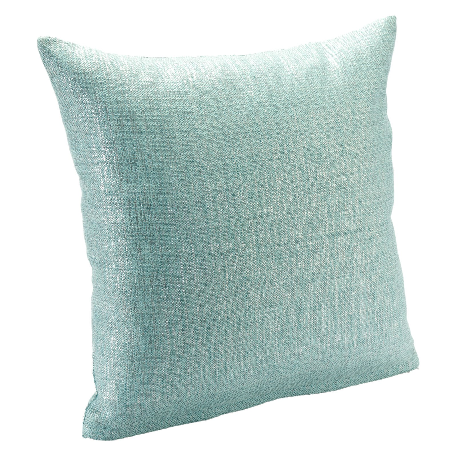 SIS Covers Sparkly Aqua Pillow