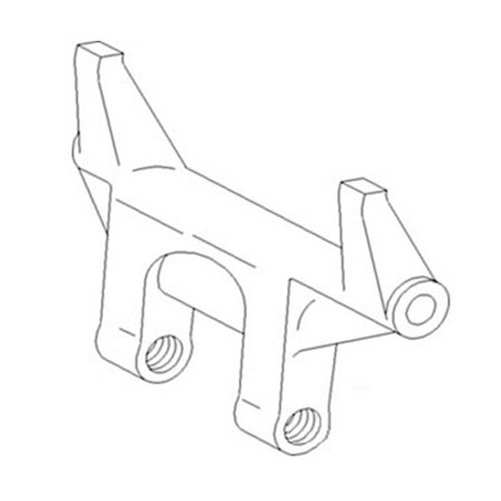 389362R1 New Stabilizer Control Arm Made to fit Case-IH