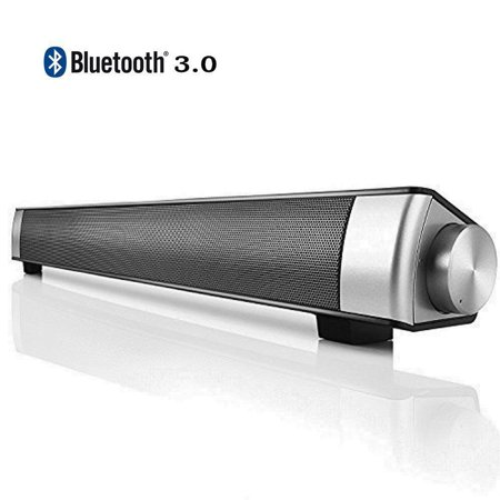 Portable Tv House Theater Movie Soundbar Bluetooth Stereo Sound Bar Upgraded Speaker Amplifier Hands Free With Mic Ip 08
