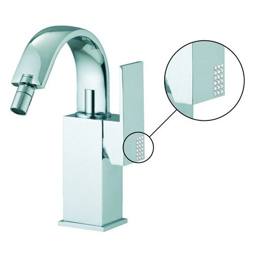 Fima Frattini by Nameeks S3522 Bidet Faucet - Chrome - Without Swarovski Crystals