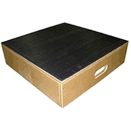 Bailey 4525 Bariatric Platform Stool w/ Non Slip Rubber Tread Surface