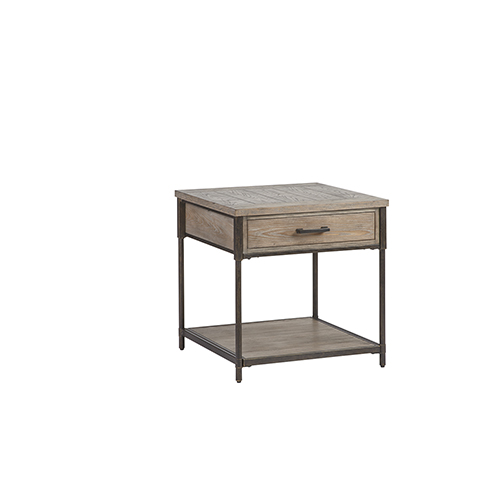 Progressive Furniture Linsley Square Lamp Table by Overstock
