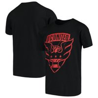 D.C. United Youth Rush to Score T-Shirt - Black