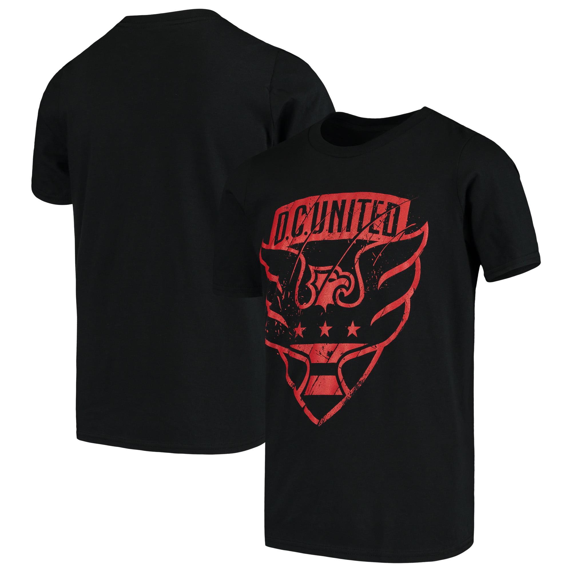 D.C. United Youth Rush to Score T-Shirt - Black