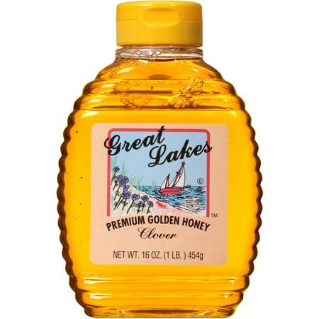 Great Lakes Premium Golden Honey Clover  16 Oz