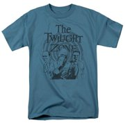 Trevco Twilight Zone-Beholder - Short Sleeve Adult 18-1 Tee - Slate, Medium