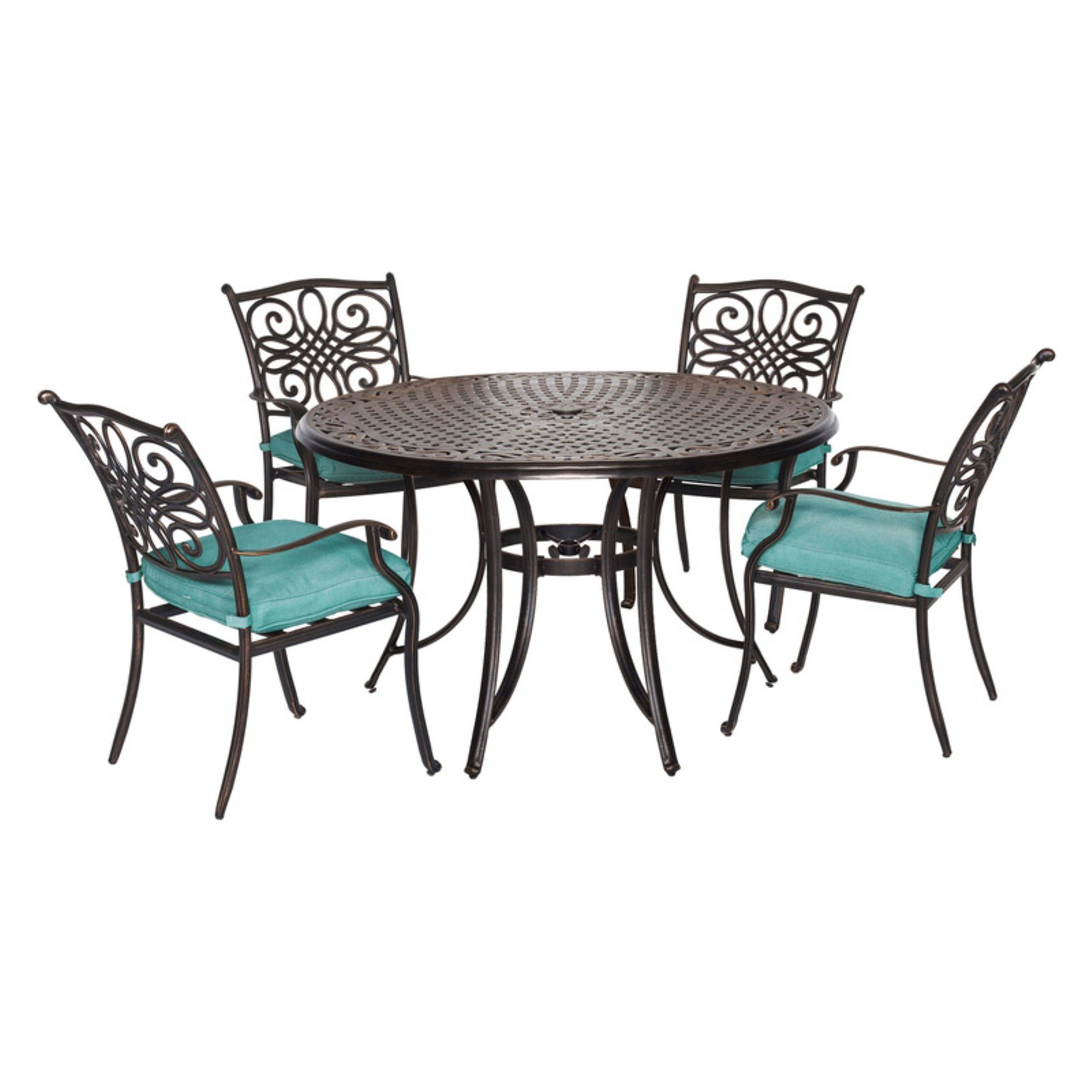 Hanover Outdoor Traditions 5 Piece Patio Dining Set