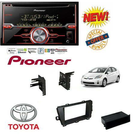 Double-Din CD/MP3/USB Car Audio Stereo w/ Bluetooth w/ Aftermarket Car Radio Stereo Install Dash