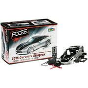 Revell® Foose Design Pre-Painted 2015 Corvette Stingray? Plastic Model Car Kit 58 pc Box