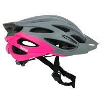 Zefal Women's Pro Gray Pink Bicycle Helmet (24 Large Vents)