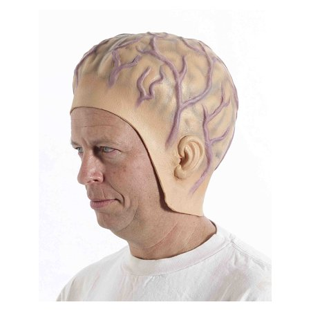Alien Mens Adult Space Invader Halloween Costume Headpiece (Space Alien Costume Ideas)