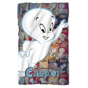 Casper The Friendly Ghost Casper And Covers Poly 36X60 Blanket White One Size