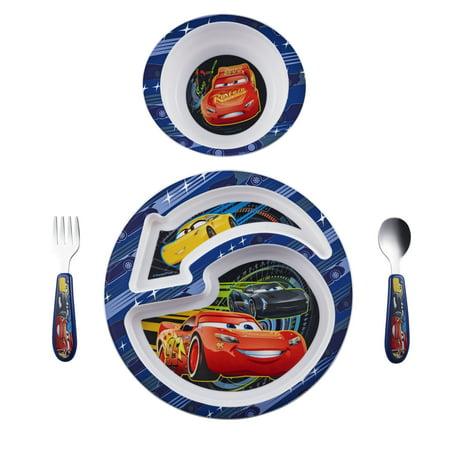 The First Years Disney Pixar Cars 3 4 Piece Feeding Set  Bpa Free
