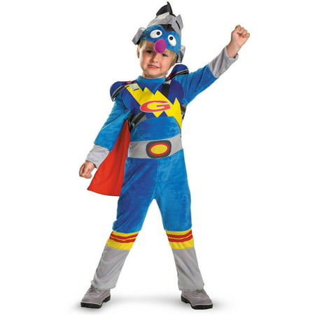 Sesame Street Super Grover 2.0 Toddler Halloween Costume - Court Street Halloween