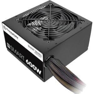 Thermaltake Smart White 600W 80+ White 12V ATX Computer Desktop PC Power Supply - PS-SPD-0600NPCWUS-W ()