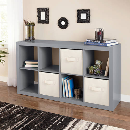 Better Homes And Gardens 8 Cube Storage Organizer, Multiple Colors    Walmart.com