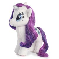 "ty beanies my little pony rarity 16"" plush"