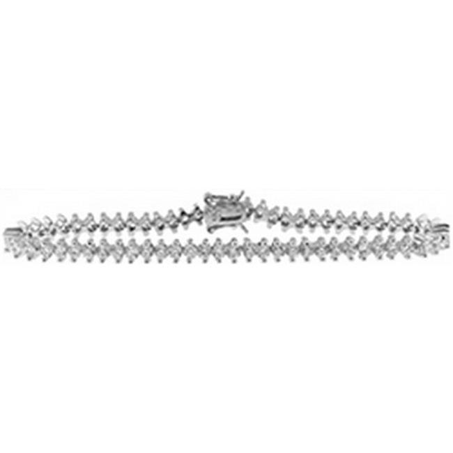 Doma Jewellery DJS01314 Sterling Silver Bracelet with CZ