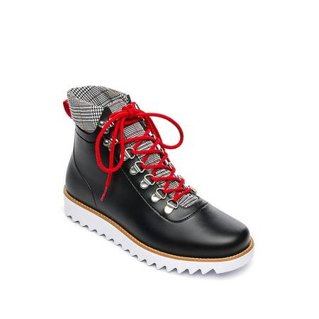 Winnie Rain Lace-Up Booties - Bernard Boots