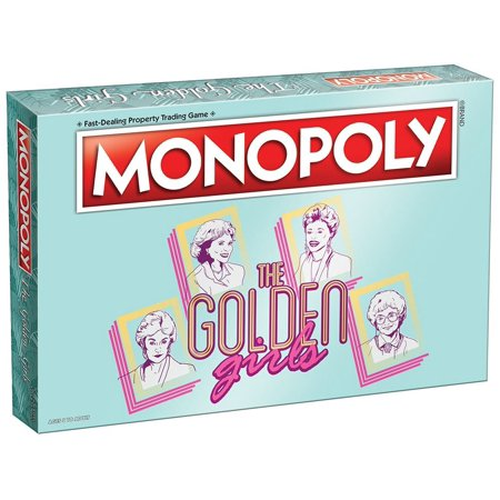 The Golden Girls Monopoly Board Game, Unique board to reflect the classic television series the golden girls By USAopoly