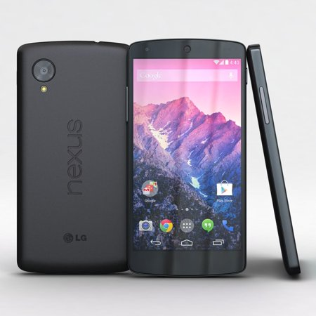 LG Google Nexus 5 D820 16GB GSM Unlocked Smartphone-Black (Pre-Owned in Excellent