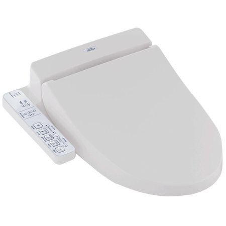 TOTO® WASHLET® C100 Electronic Bidet Toilet Seat with PreMist, Elongated, Cotton White